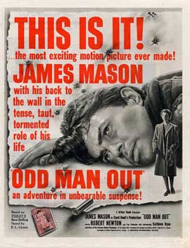 Odd Man Out - 11 x 17 Movie Poster - Style A