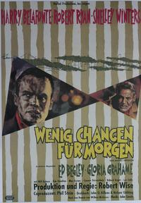 Odds Against Tomorrow - 11 x 17 Movie Poster - German Style D