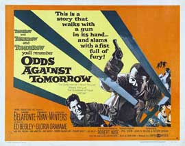 Odds Against Tomorrow - 11 x 14 Poster UK Style A