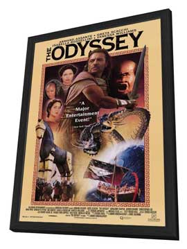 Odyssey, The (TV) - 27 x 40 Movie Poster - Style A - in Deluxe Wood Frame