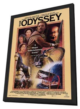 Odyssey, The (TV) - 11 x 17 Movie Poster - Style A - in Deluxe Wood Frame