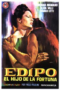 Oedipus Rex - 11 x 17 Movie Poster - Spanish Style A
