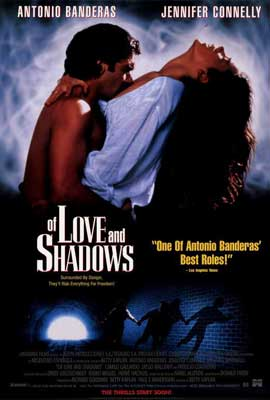 Of Love and Shadows - 27 x 40 Movie Poster - Style B