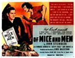 Of Mice and Men - 11 x 14 Movie Poster - Style A