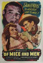 Of Mice and Men - 11 x 17 Movie Poster - Style B