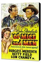 Of Mice and Men - 11 x 17 Movie Poster - Style A - Museum Wrapped Canvas