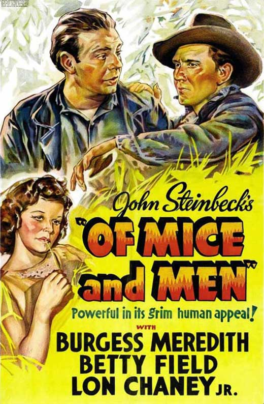 Black And White Of Mice And Men John Steinbeck Quotes ...