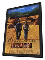 Of Mice and Men - 11 x 17 Movie Poster - Style B - in Deluxe Wood Frame