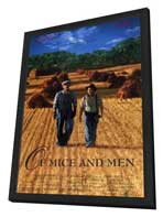 Of Mice and Men - 27 x 40 Movie Poster - Style A - in Deluxe Wood Frame