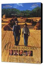 Of Mice and Men - 11 x 17 Movie Poster - Style B - Museum Wrapped Canvas