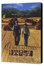 Of Mice and Men - 27 x 40 Movie Poster - Style B - Museum Wrapped Canvas