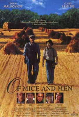 Of Mice and Men - 27 x 40 Movie Poster - Style B