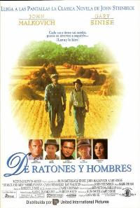 Of Mice and Men - 11 x 17 Movie Poster - Spanish Style A