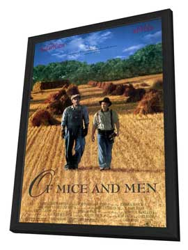Of Mice and Men - 11 x 17 Movie Poster - Style A - in Deluxe Wood Frame