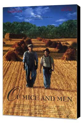 Of Mice and Men - 27 x 40 Movie Poster - Style A - Museum Wrapped Canvas