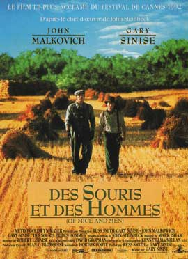 Of Mice and Men - 11 x 17 Movie Poster - French Style A