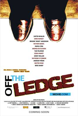 Off the Ledge - 43 x 62 Movie Poster - Bus Shelter Style A
