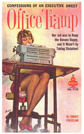 Office Tramp - 11 x 17 Retro Book Cover Poster