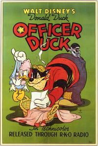 Officer Duck - 27 x 40 Movie Poster - Style A