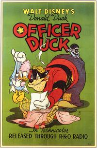 Officer Duck - 43 x 62 Movie Poster - Bus Shelter Style A