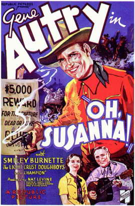 Oh, Susanna! - 11 x 17 Movie Poster - Style A