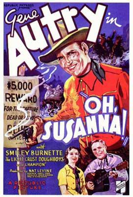 Oh, Susanna! - 27 x 40 Movie Poster - Style A