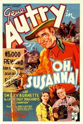 Oh, Susanna! - 11 x 17 Movie Poster - Style B
