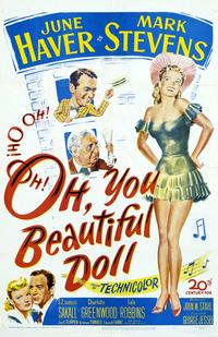 Oh, You Beautiful Doll - 11 x 17 Movie Poster - Style A
