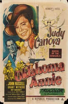Oklahoma Annie - 11 x 17 Movie Poster - Style A