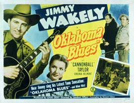 Oklahoma Blues - 11 x 14 Movie Poster - Style A