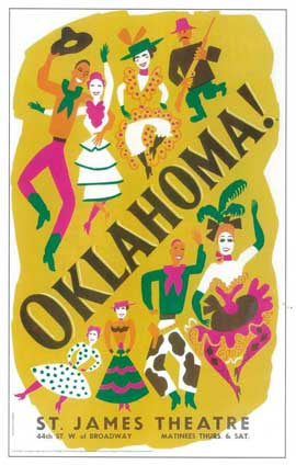 Oklahoma! (Broadway) - 14 x 22 Poster - Style A