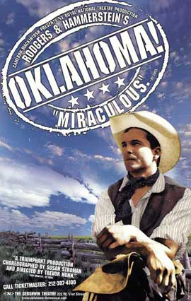 Oklahoma (Broadway) - 27 x 40 Poster - Style A