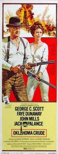 Oklahoma Crude - 14 x 36 Movie Poster - Insert Style A
