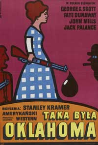 Oklahoma Crude - 11 x 17 Movie Poster - Polish Style A