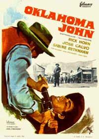 Oklahoma John - 11 x 17 Movie Poster - Spanish Style A