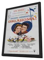 Oklahoma! - 27 x 40 Movie Poster - Style C - in Deluxe Wood Frame