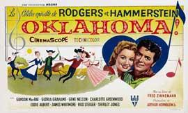 Oklahoma! - 27 x 40 Movie Poster - Belgian Style A