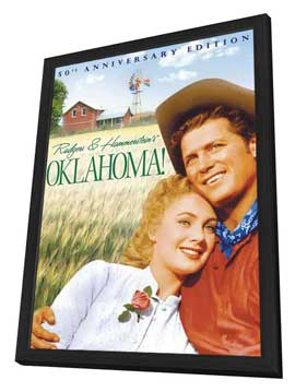 Oklahoma! - 11 x 17 Movie Poster - Style C - in Deluxe Wood Frame