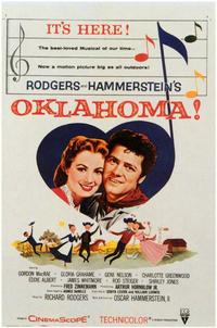Oklahoma! - 11 x 17 Movie Poster - Style B - Museum Wrapped Canvas