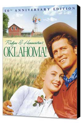 Oklahoma! - 11 x 17 Movie Poster - Style C - Museum Wrapped Canvas