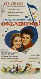 Oklahoma - 20 x 40 Movie Poster - Style A