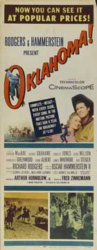 Oklahoma - 14 x 36 Movie Poster - Insert Style A