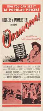 Oklahoma - 14 x 36 Movie Poster - Insert Style B