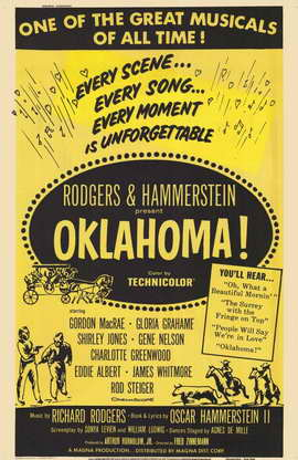 Oklahoma - 11 x 17 Movie Poster - Style A