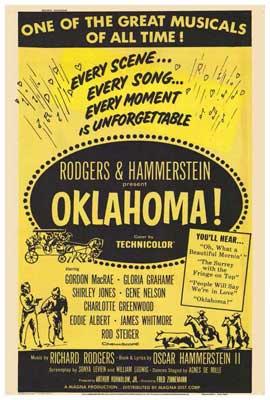 Oklahoma - 27 x 40 Movie Poster - Style A