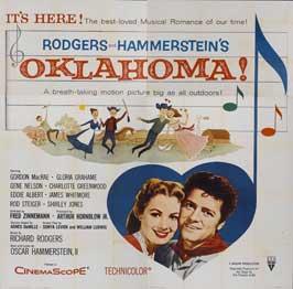 Oklahoma - 30 x 30 Movie Poster - Style A