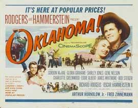 Oklahoma - 22 x 28 Movie Poster - Half Sheet Style A