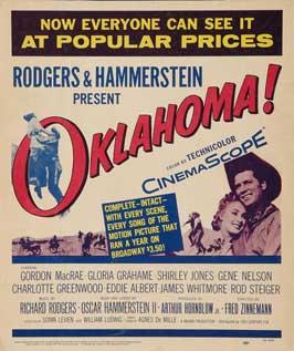Oklahoma - 11 x 17 Movie Poster - Style B