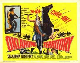 Oklahoma Territory - 11 x 14 Movie Poster - Style B