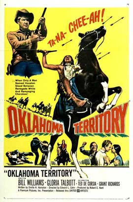 Oklahoma Territory - 11 x 17 Movie Poster - Style A